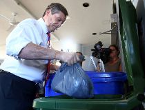 John Tory recycling