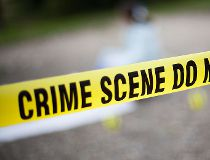 Crime scene tape - police tape - getty