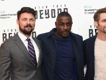Karl Urban, Idris Elba and Chris Pine