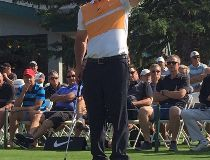 Former world No. 1 golfer David Duval was at Pine Ridge Golf Club on Tuesday as part of A Day With David Duval Pro-Am.