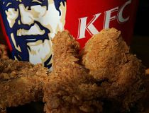 KFC's fried chicken