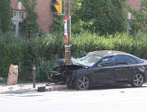 Avenue Roselawn Roads crash