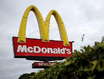 McDonald's golden arches sign