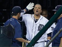 Detroit Tigers' Victor Martinez