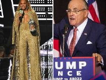 Beyonce and Rudy Giuliani 7