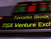 Toronto Stock Exchange ticker (CP)