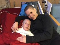 Jonathan Pitre and mother