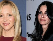 Lisa Kudrow and Courtney Cox