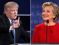 Clinton, Trump debate