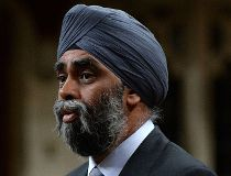 Minister of National Defence Minister Harjit Sajjan