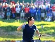 Rory McIlroy of Europe