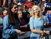 Kellyanne Conway and Hope Hicks