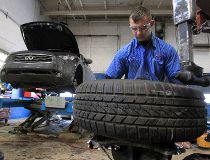 Tips to remember when you're installing winter tires
