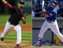 Danny Salazar / Kyle Schwarber FILES Oct. 25/16