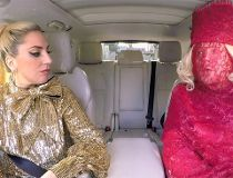 Lady Gaga carpool