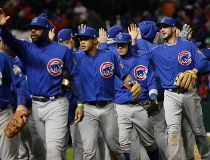 Cubs celebrate Oct. 26/16