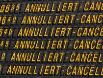 Cancelled Eurowings flights
