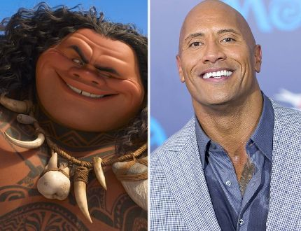 Dwayne Johnson gets his groove on for Disney's 'Moana'