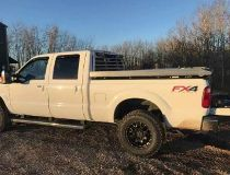 Grande Praire Rural RCMP are looking for a 2015 white Ford F350 FXR