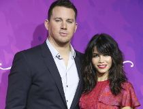 Channing Tatum, left, and Jenna Dewan-Tatum
