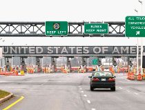 The United States border