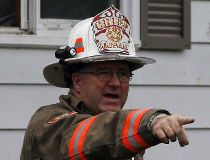 Kingsville, Ont.,  fire chief Bob Kissner