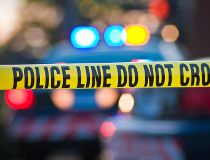 Police lights Getty