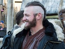 Josh Donaldson on Vikings set