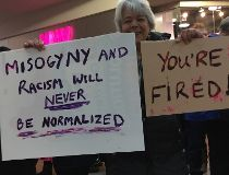 Winnipeg women's march