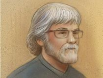 Marc Leduc sketch in the Ottawa courthouse Feb. 7, 2013.