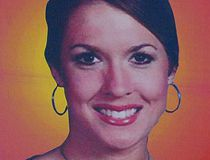Tara Grinstead on a billboard