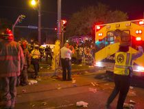 US-Mardi-Gras-Car-Hits-Crowd, 3rd Writethru