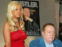 Hustler magazine publisher Larry Flynt