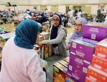 Muslim Families Network Society Halal Food and Clothing Distribution event
