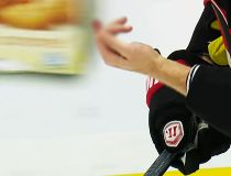 Senators defenceman Marc Methot (3) took a slash to his left hand from Penguins centre Sidney Crosby and had to leave the game Thursday in Ottawa due to a laceration to his finger.