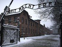 Auschwitz gate - AFP photo