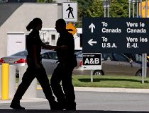 Canadian border guards