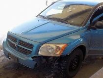 blue Dodge Caliber