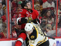 Chris Wideman hit by Sean Kuraly