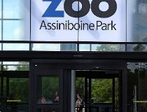 Assiniboine Park Zoo entrance