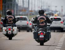 Hells Angels from across Canada are in Calgary this weekend
