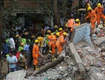 building collapsed in Ghatkopar