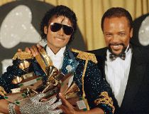 Michael Jackson and Quincy Jones