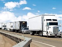 Truck traffic FILES July 27/17