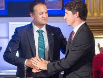 Trudeau Varadkar FILES Aug. 20/17