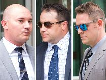 Calgary police officers James Othen, Kevin Humfrey and Mike Sandalack on trial for assault during arrest