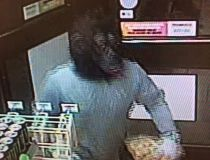 Gorilla-masked man sought after Stony Plain convenience store heist