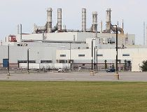 GM CAMI assembly factory parking lot