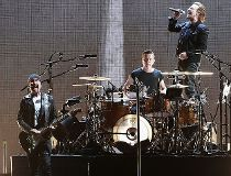 The Edge, Larry Mullen Jr, Bono and Adam Clayton of U2