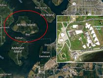Satellite image of the Special Commitment Center, southwest of Seattle. (Google)